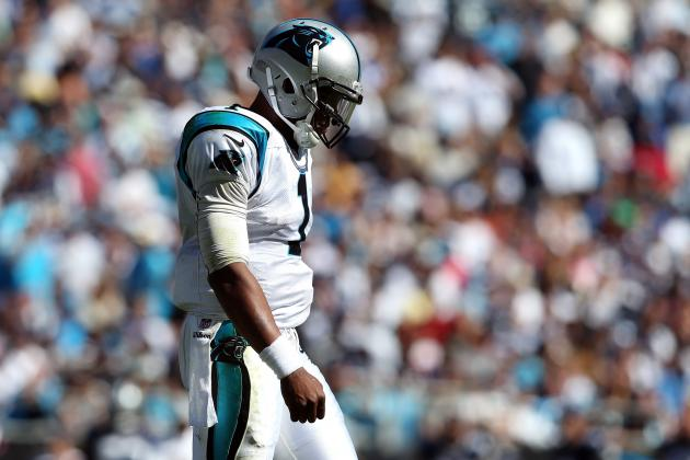 Filling Cam Newton's Suggestion Box: Improve on Goal-Line Passing