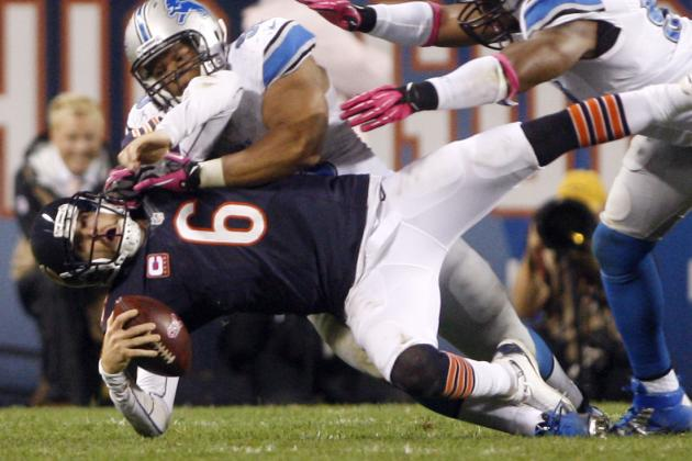 Jay Cutler Injury: Brandon Marshall Calls Out Ndamukong Suh for Nasty Hit