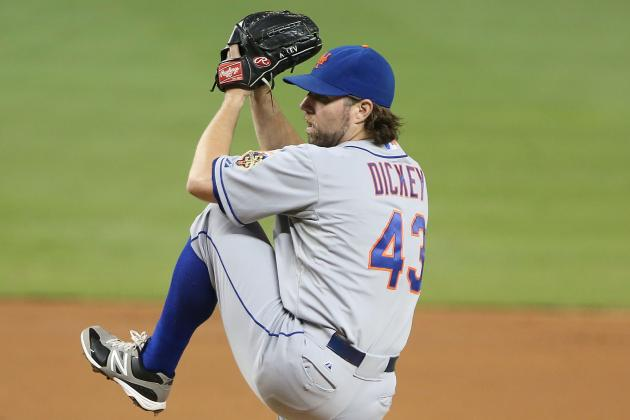 Mets' Dickey OK After Surgery