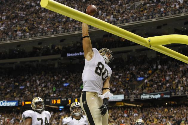 Jimmy Graham: Projecting Saints TE's Fantasy Output If He Plays vs. Broncos