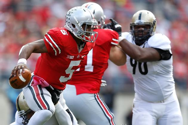 Braxton Miller Injury: How Much Running Is Too Much for a Quarterback?
