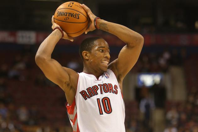 DeMar DeRozan's 21 Points Lead Raptors to 104-95 Pre-Season Win over Bucks