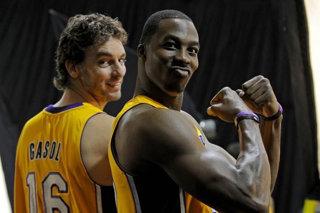 Dwight Howard's Chemistry with Pau Gasol Spells Trouble for Lakers' Opponents