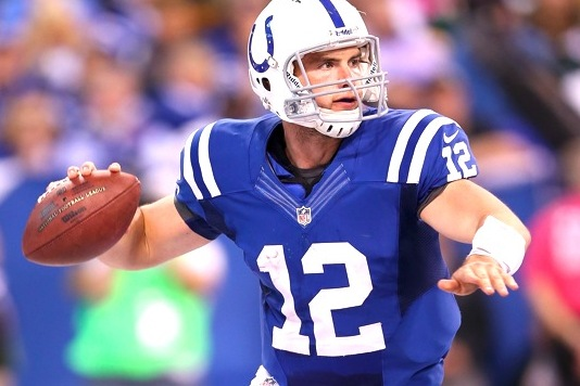 Comparing Andrew Luck's & Peyton Manning's Rookie Years at the Midseason Mark