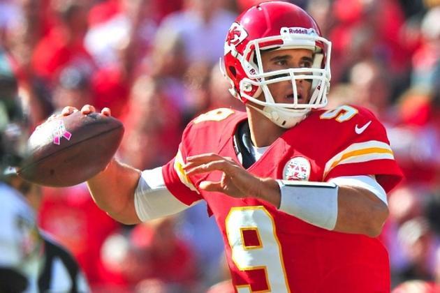 Kansas City Chiefs: Chiefs Name Brady Quinn Starter; Matt Cassel as Backup