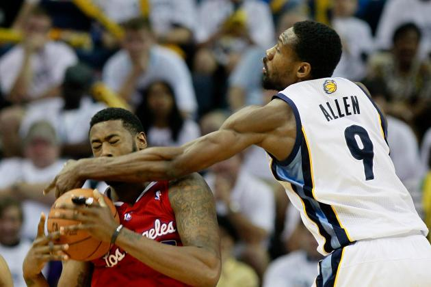 NBA GMs Recognize Tony Allen as League's Best Perimeter Defender