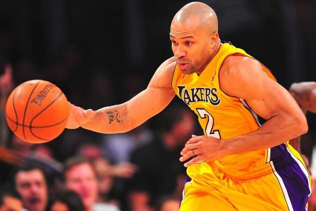 Lakers Rumors: Updates on Potential Return of Derek Fisher and Backup PG Spot