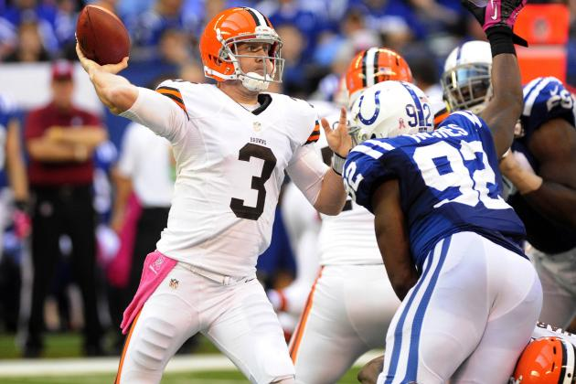 Cleveland Browns: Mike Holmgren Endorses Brandon Weeden as QB of the Future