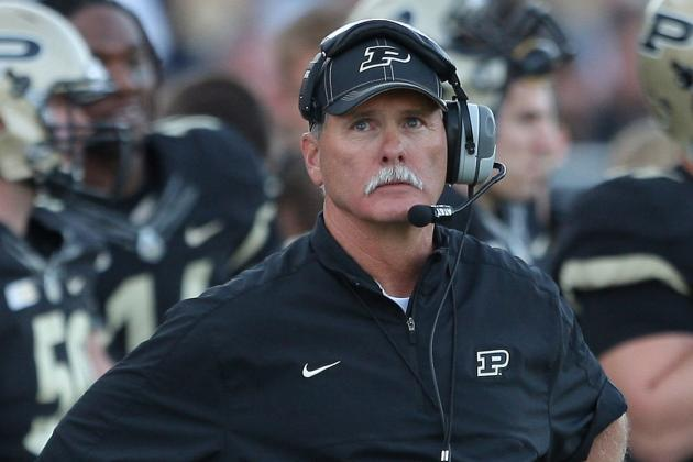 Attitude Change Showed in Purdue Football Team's Play Against Ohio State