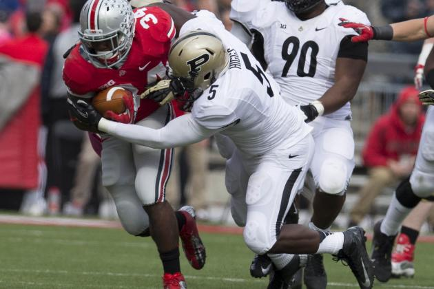 Purdue Defenders Regrouped Against Ohio State