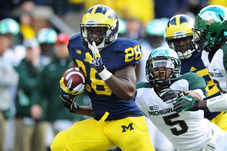 Michigan RB Fitz Toussaint Sentenced for Drunken-Driving Arrest