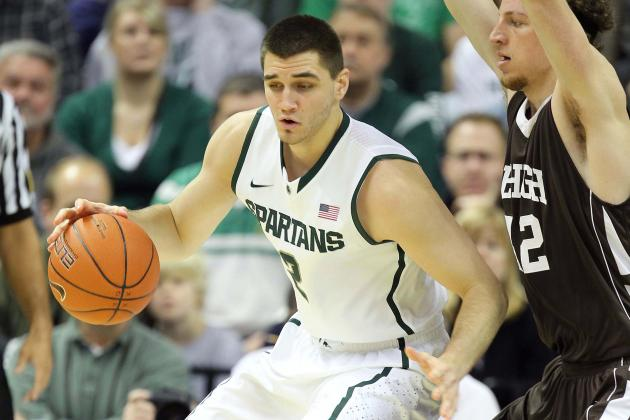 MSU's Tom Izzo Wants to See Alex Gauna's Passion Against Matt Costello