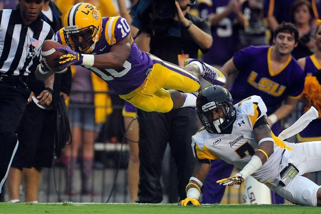 LSU Football: One of Tigers' Biggest Problems Is Getting Russell Shepard Touches