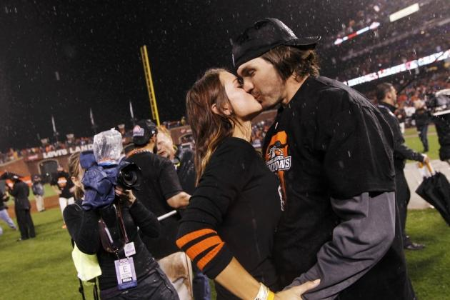 Barry Zito's Wife: Giants' Star Pitcher and Amber Seyer Share Beautiful Moment