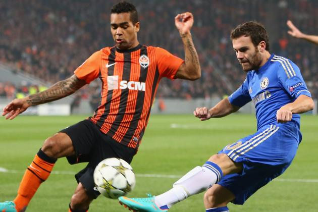 Shakhtar Donetsk Defeat Chelsea, 2-1