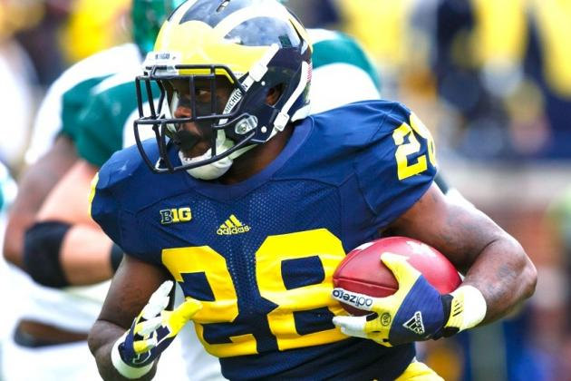 Fitz Toussaint: Michigan RB Sentenced on Drunk Driving Charges