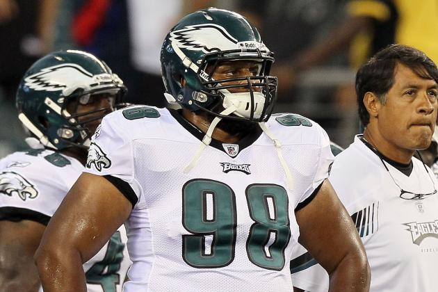 After Brain Surgery, Eagles DT Mike Patterson Practices