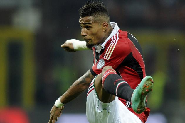 AC Milan to Axe Kevin Boateng for Champions League Game Against Malaga