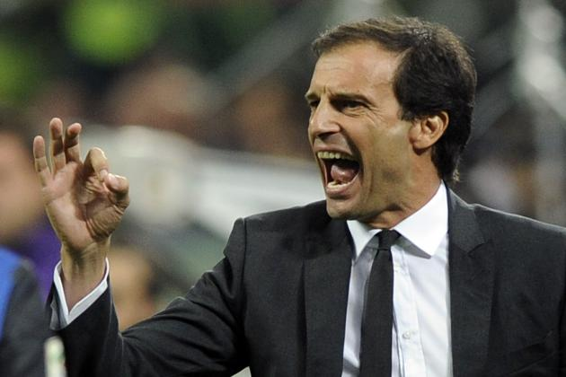 Massimiliano Allegri Insists AC Milan Are 'Not in Difficulty'