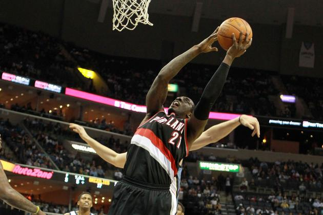 J.J. Hickson Earns Trail Blazers' Starting Center Spot