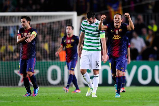 FC Barcelona 2-1 Celtic: Barca Escape Courtesy of Jordi Alba's Late Goal