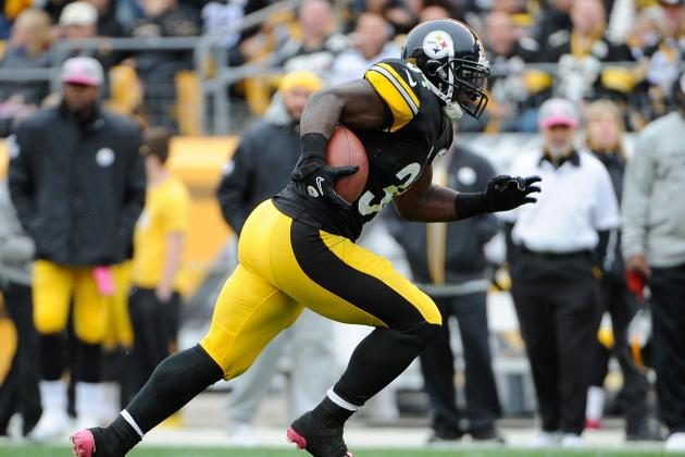 Rashard Mendenhall: Steelers RB Carries Minimal Fantasy Value in Week 8