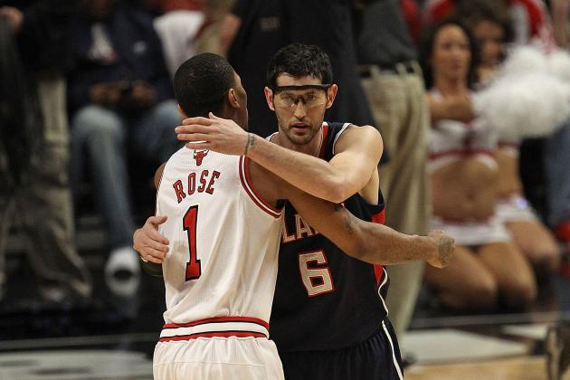Comparing Chicago Bulls with Kirk Hinrich at Point Guard vs. Derrick Rose