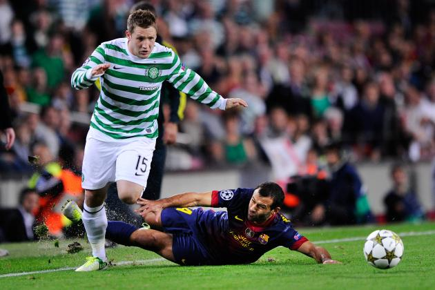 Barcelona's Dearth of Defensive Options Exposed Again Against Celtic