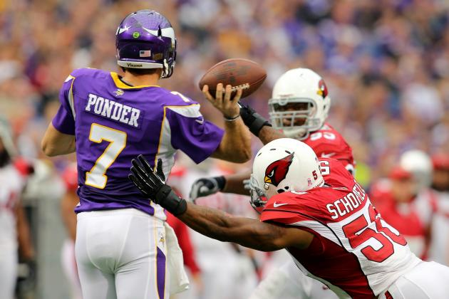 Vikings Weekly Progress Report: Ponder Still Struggling, D Rolling to Week 8