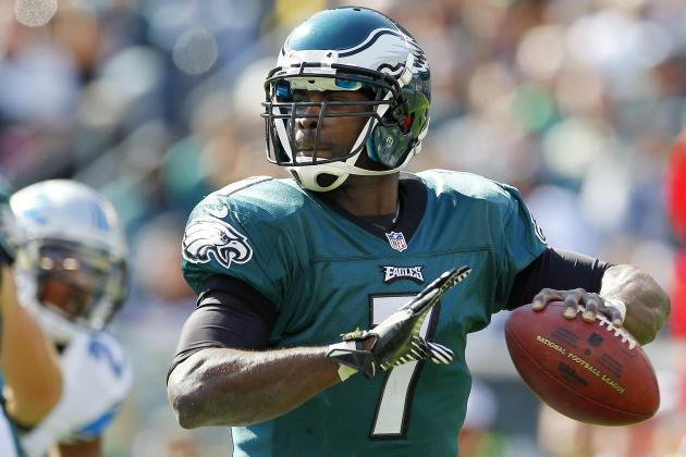 Breaking Down Michael Vick's Form at the NFL's Midseason Mark