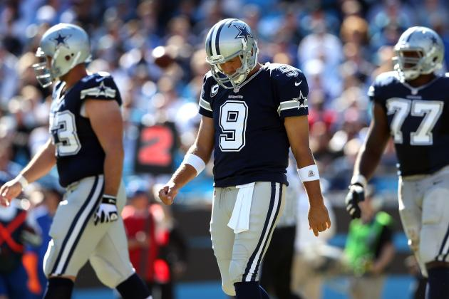 Breaking Down Tony Romo's Form at the NFL's Midseason Mark