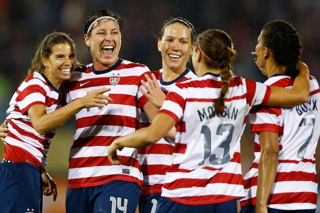 U.S. Women's Soccer Draws Against Germans Twice in Back-to-Back Friendlies