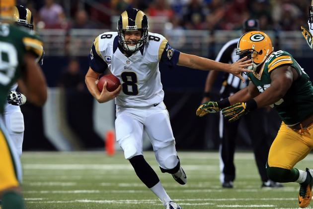 Breaking Down Sam Bradford's Form at the NFL's Midseason Mark