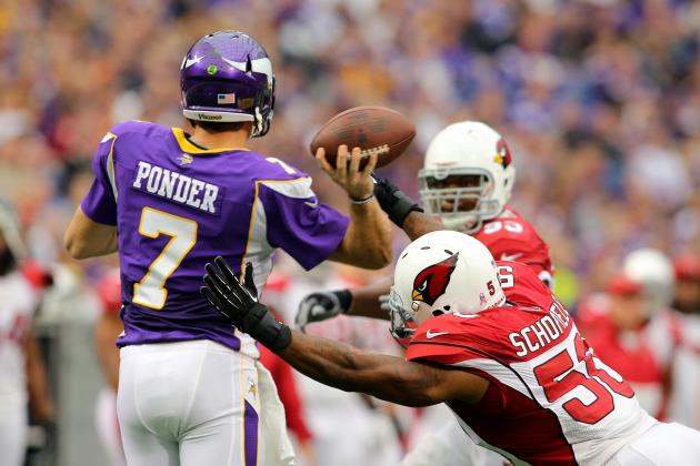 Breaking Down Christian Ponder's Form at the NFL's Midseason Mark