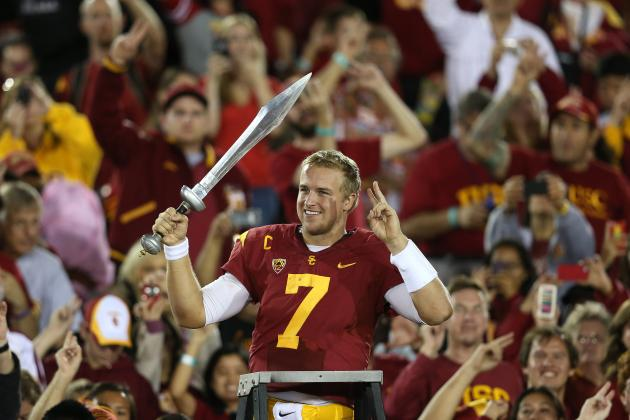 USC Football:  Matt Barkley on Track to Ascend in Heisman Conversation
