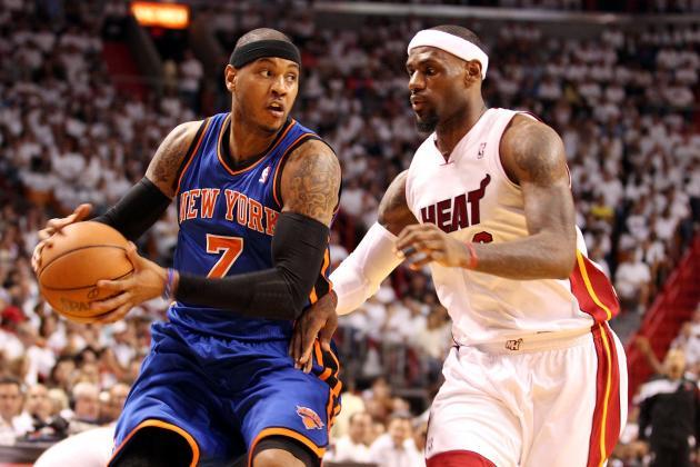 NBA Rumors: Moving Carmelo Anthony to Power Forward Makes Knicks More Dangerous