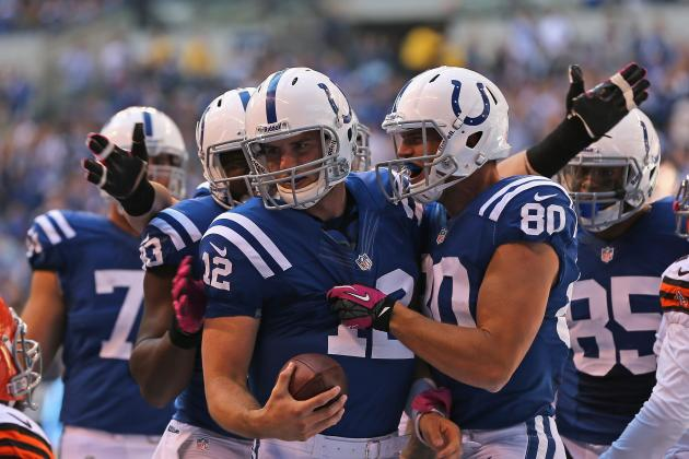 Breaking Down Andrew Luck's Form at the NFL's Midseason Mark