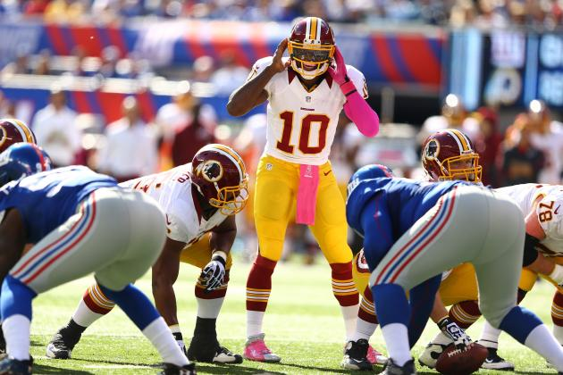 Breaking Down RGIII's Form at the NFL's Midseason Mark