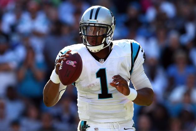 Breaking Down Cam Newton's Form at the NFL's Midseason Mark