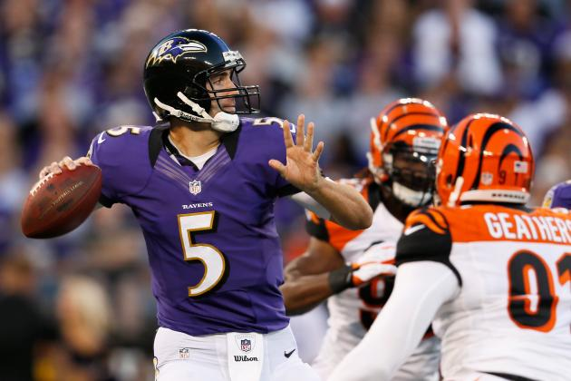 Breaking Down Joe Flacco's Form at the NFL's Midseason Mark