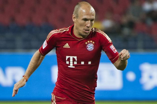 I'm Not Retiring, Says Bayern Munich's Arjen Robben