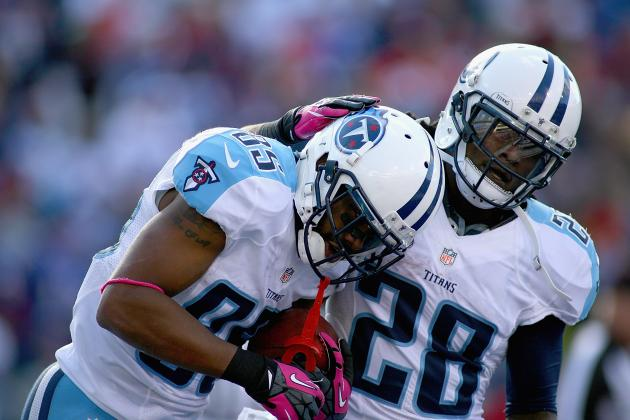 Fantasy Football 2012 Week 8 Rankings: Top 40 Running Backs