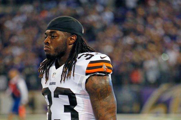 Browns May Shut Down Trent Richardson for Three Weeks