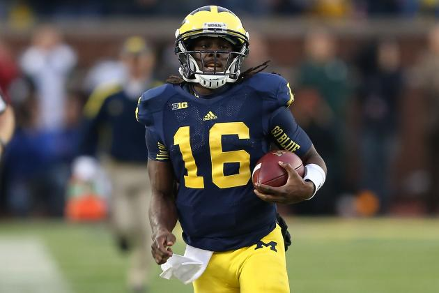 Michigan vs. Nebraska: Denard Robinson Will Not Struggle on Road vs. Cornhuskers