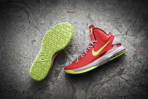 Breaking Down the New Nike Kevin Durant KD V Shoes