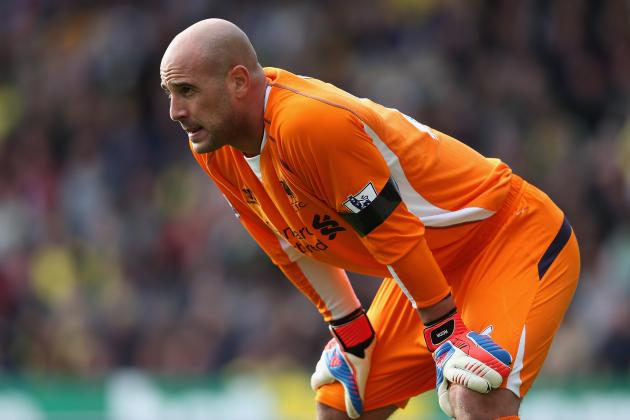 Hamstring Injury Threatens Jose Reina's Merseyside Derby Chances