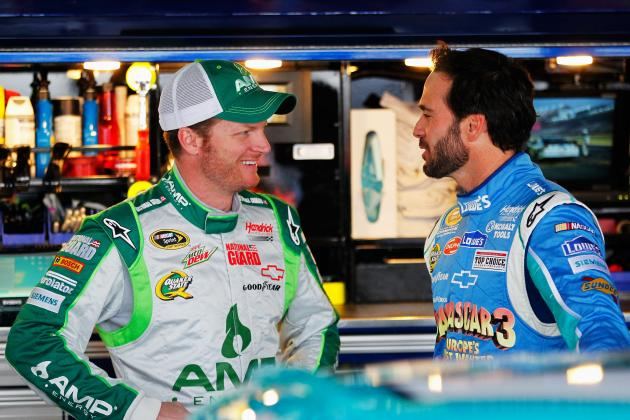 Earnhardt Jr.'s Return a Big Boost for Jeff Gordon, Jimmie Johnson