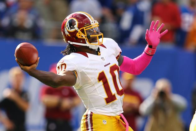 RG3 Doesn't Hold Himself to 'Rookie Mindset'