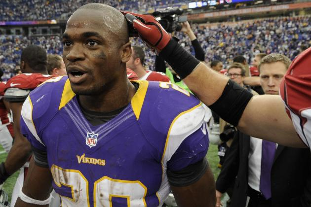 Vikings Hold out Adrian Peterson, Limit Others in Week's Lone Practice