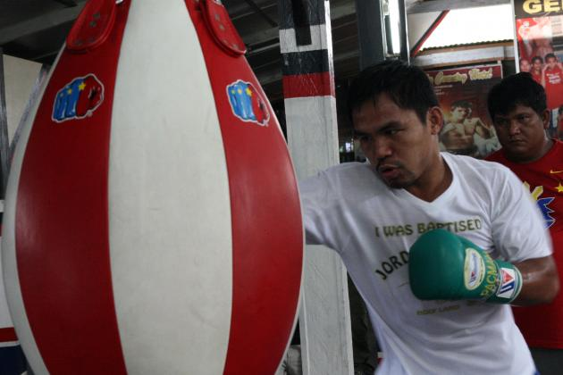 Manny Pacquiao: Intense Training Will Lead Pac-Man to KO of Juan Manuel Marquez